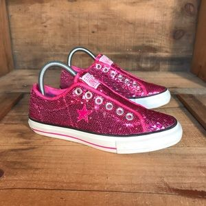 Converse One Star Sequin
